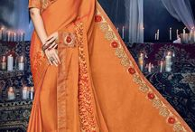 2626 Mango 7 Indian Women Rich Look Sarees