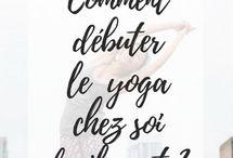 Yoga pour les nulles ♀️ / Exercices de yoga ♀️ pour débuter le yoga