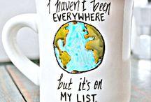 Sobre viajar / Postales que inspiran a viajar, en la palabras.