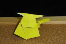 Origami / Figuritas de papel