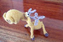 Moose crochet pattern projects LittleOwlsHut Amigurumi / by LittleOwlsHut
