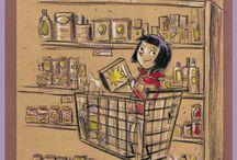 Gabos Jeunesse / Illustrazioni per progetti fiction e non fiction per ragazzi e infanzia.
