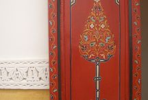 Handpainted Doors