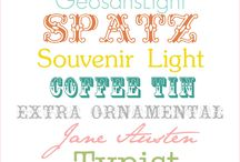 Free Fonts / by Cristin Luea
