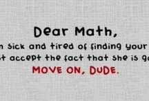 me vs. math / by Kelly Oliver