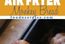 Air fryer vegan style