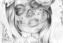 Tattoo twarz