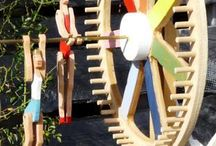 ~ YARD ART ~ / whirly gigs, winds spinners, wind chimes, etc.