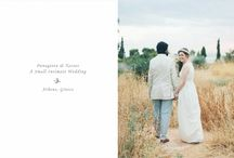 A Small Intimate Wedding in Athens