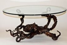 Amazing art for the home or business / Bronze sculpture & tables in limited editions By Kirk McGuire