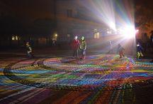Fényfestés - Gyerekek / A gyerekek is mindig élvezik a fényfestés látványos fény-árnyék effektjeit.