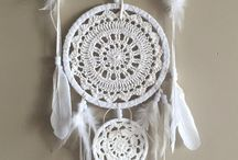 Dreamcatchers / Going to learn how to make these.
