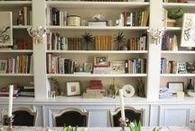 Bookshelf styling / Bookshelf styling organisation ideas