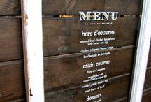 Restaurant ideas;)