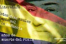 Antonio Machado / El 22 de febrero de 2014 se cumplieron 75 años de la muerte del poeta en Colliure. En este tablero le rendimos sencillo homenaje.