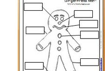 Christmas crafts/ Gingerbread Man / by Lexie Butler