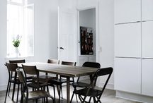 dining room / dining room + table inspiration