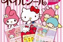 サンリオキャラクター ネイルシール / http://www.re-ment.co.jp/products/sanrio_nailseal/index.html