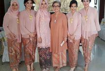 Wedding: kebaya braidsmaid