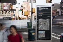 Wayfinding & Signage / Signage, maps, information