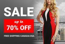Awesome Deals On Stylish Dresses! / Browse a selection of day/career and cocktail dresses all discounted 50-70% off.