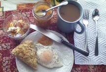 """Nestle Inn B&B: Breakfast / """"All happiness depends on a leisurely breakfast"""" - John Gunther"""