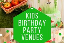 Kids' Birthday Party Ideas / From the fun in the playground to princess-themed dessert tables for the party, match your kid's personality and represent it well through this opportunity! Calling all the parents out there to be prepared for the party.