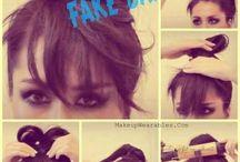 Hair nails face