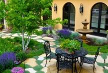 Terrazas y patios exteriores
