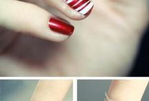 Christmas Nails / Nails  / by Emma Hales