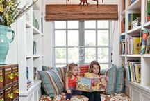 Reading Nooks / Reading nooks, coffee nooks, nooks for snuggling...