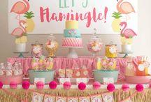 Party theme - flamingo