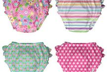 Swim Diapers and Swimsuits / Fun and functional swim diapers and swimsuits