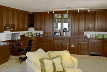 Custom work in various areas / Built in Cabinetry, bars, office spaces - more custom work for various areas throughout the homes.