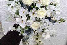 Silk \ foam flowers