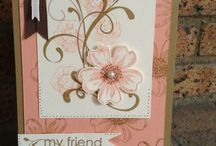 Pansey Stamp cards / by Laverne Norton