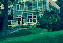 Homes on Lake Geneva / This is a collection of the beautiful homes on #LakeGeneva