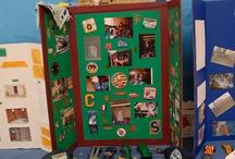 Eagle Scout Memorabilia Table