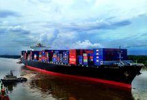 ship and shipping terminal
