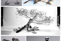Sculpture fourchette