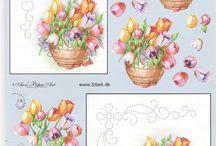 tableau fleuri