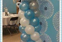 torre de globos Balloon Columns