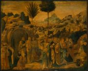 Renaissance Paintings of Jesus / Renaissance was a time period that had many famous artists such as Leonardo Da Vinci, Raphael, Michelangelo, Donatello and Titian. Arnav Sthapit 9.1