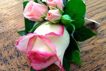 Pretty Posies Buttonholes / A collection of Buttonholes from weddings done by Pretty Posies.