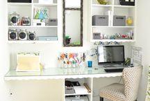 Home ideas - storage, tips / by Emma Davies