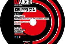 GRUPPOC14 / Gruppo C14 è uno studio di architettura non convenzionale fondato nel 2003 a Milano, nel quale collaborano professionisti provenienti da diversi settori dell'ambito creativo, un team di architetti, designer, grafici e multimedia designer.