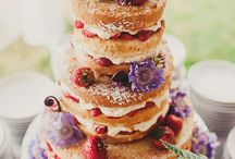 Naked Wedding Cakes / Beautiful Naked Wedding Cakes