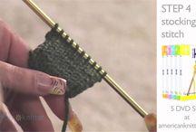 Knitting How To / by Pat Swiatek