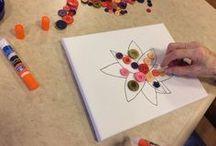 Dementia patient crafts