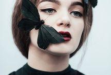 Портрет и насекомые